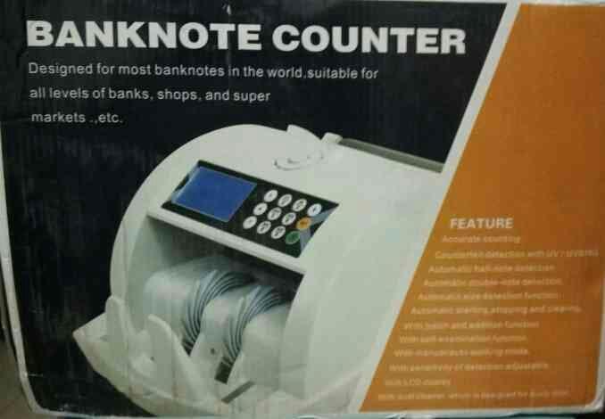 Advance Technology Make Loose Note Counting Machine.  - by SUKRUT ZEROX INDIA, Navsari, Gujarat