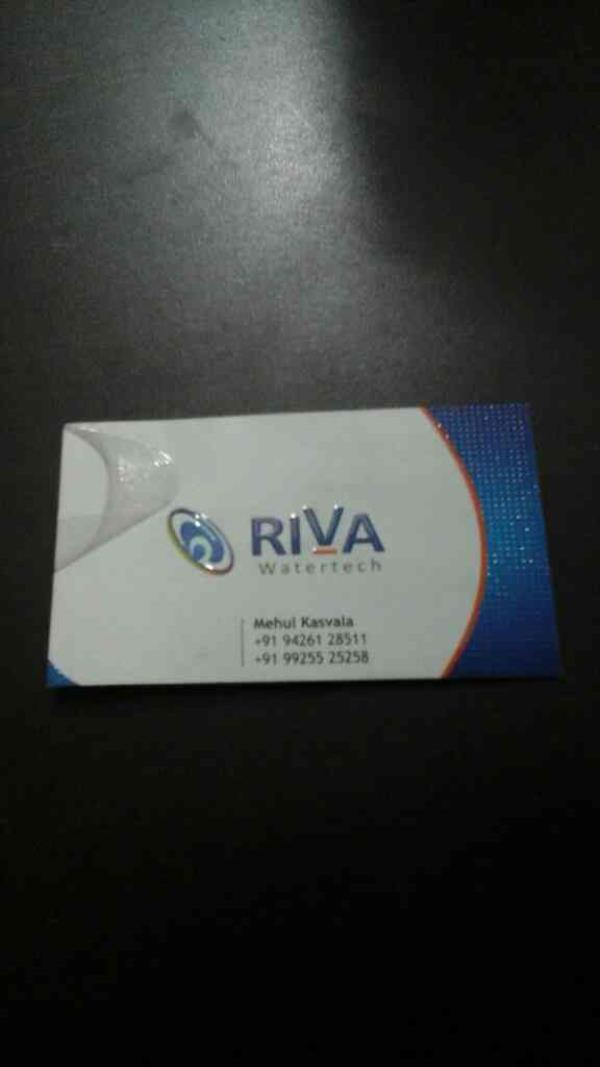 Ro Water Purifier Parts Manufacturer - by RIVA WATERTECH, Ahmedabad