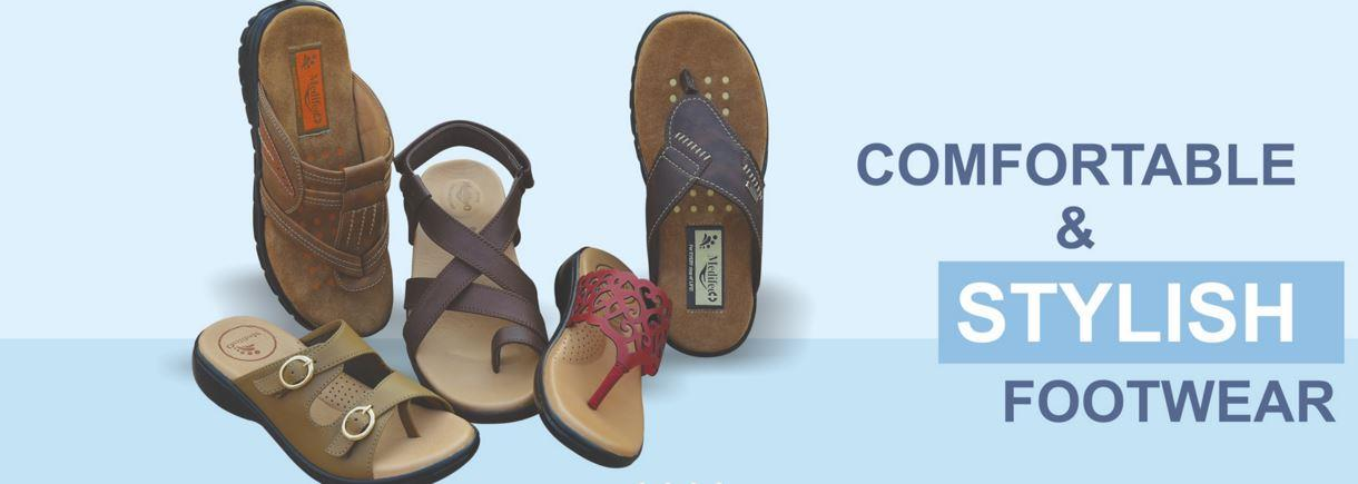 """""""Diabetic Footwear"""" and """"Orthopedic Footwear"""" are available with us in various range and specifications following the precise demands and requirements of Consumers. - by MediFeet 