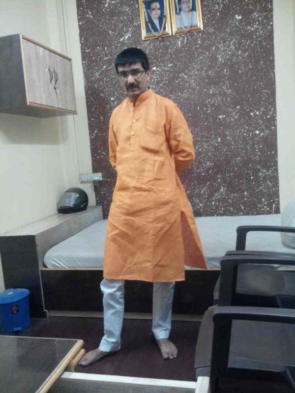लीलन कुर्ता पाजामा - by Ajmer Tailor Jai Bhole Ki Dukan  (Suit Specialist), Ajmer