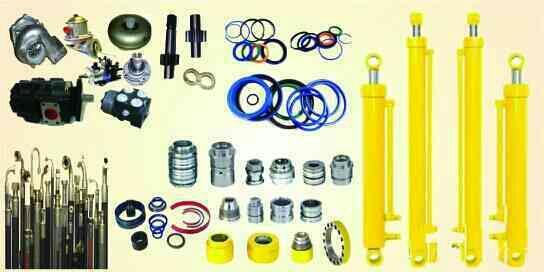 All Backhoeloder & Braker parts supplier in Rajkot, Gujrat - by Shivshakti Marketing, Rajkot