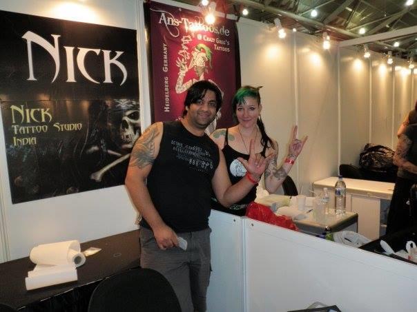 Famous Tattoo artists - by Nick Tattoo Studio, Ludhiana