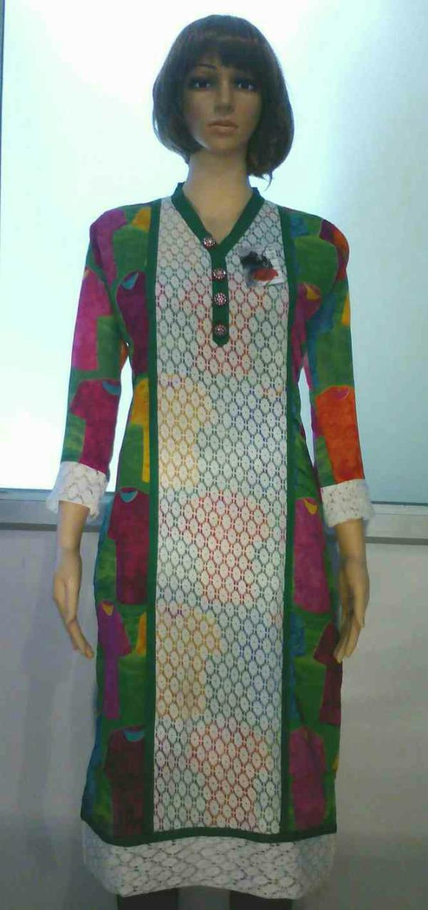 multicolored kurta only rupees 450 - by La Rose The Boutique, Bhopal
