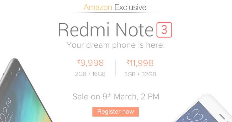 launched today in India... really awesome... 3GB RAM, 32GB Memory!!! Registration now... flash sale on 9th March.... - by Business of Life, Kolkata