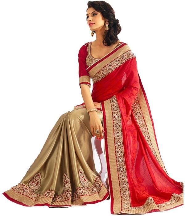 Buy This Designer Saree at Only 950 /-. We are offering Flat 20% Discount On All the Sarees Available at Our Store. Visit Our Store Once to Grab All the Offers we are offering on Unique saree, Best designer saree, Silk saree.  - by Neha Boutique, Hyderabad