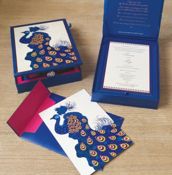 Luxury Stationery available. #LuxuryInvitations #PremiumWeddingCards - by Colour Box |  Designer Wedding Card Manufacturers, Delhi