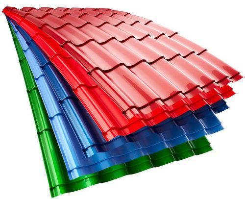 We have Color Roofing Sheets in different varieties.  - by Engineering Roofing Solutions, Visakhapatnam