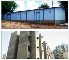 BRSCO  One of the Leading Metal building construction Industry and Leader in South India, having a large capacity product range. The Company Incorporated in the year 2011. BRSCO. started with the manufacturing of Prefabricated Structures, I - by Builtrite Roofing and Structural Company, Chennai