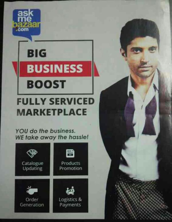 BOOST ur Business with ASKME.COM only in 6, 999/-₹ 1 Year subscription with unlimited space. (offer valid for 31st March'16). For Demo call on 9714868588. - by SUKRUT ZEROX INDIA, Navsari, Gujarat