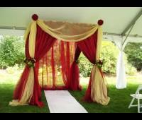 Decorations Arrangements in Jammu   Today wedding ceremony without flower decoration is incomplete. Wedding flower decorations can be of different types. One can go in for a beautiful centerpiece or a large arch, keeping in mind the need of - by Trived  Event Management, Jammu