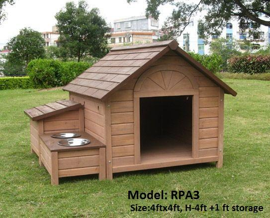 Dog house/Kennel Manufacturer: Wooden Pet Kennel/House :  Made of 12.00 mmx100.00 mm Hard wood wall panel with 50mmx50mm vertical Post.  With Food Storage & Bowel platform . Pricing @Rs.34000.00 + Tax + Freight . - by Wooden Home Manufacturer Call us  +91 9891300100 / For More Visit Us: www.woodenhomeindia.com, Delhi