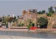 Heritage : Akhnoor Fort is situated on the right bank of Chenab River (ancient name Asikni). The construction of the fort was started by Mian Tej Singh in 1762 AD and completed by his successor Raja Alum Singh in 1802. Inside the fort there - by Hotel Mansar, Jammu