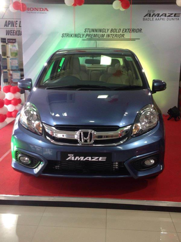 The New Facelift Amaze is on display at Pride Honda Madhapur, drive home the stylist car. Booking are open. - by Pride Honda Call 04039594512, Hyderabad