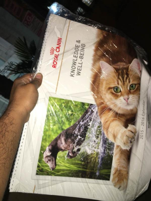 Royal Canin 2016 - Calendar - by SnH Groups, Bangalore Urban