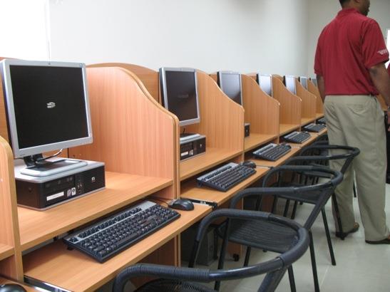 Internet Cafe furniture provider in Bhopal near Sindhi Market  - by Avanti Steel Industries, Bhopal