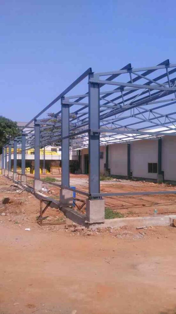 Industrial Roofing Service. We are one of the leading PEB construction contractors.and EPS Contractors We Undertake turn key projects for heavy  meadium and small industries. - by Builtrite Roofing and Structural Company, Chennai