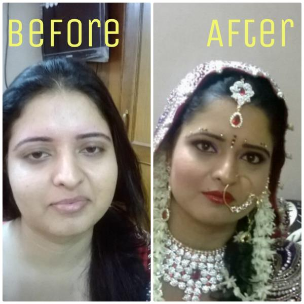 """HOW CAN BE YOUR MAKEOVER ????  CALL NOW.......    8860092180  ........  JAMNIK""""S MAKEOVER.......  - by Jamniksmakeover@8860092180, Delhi"""
