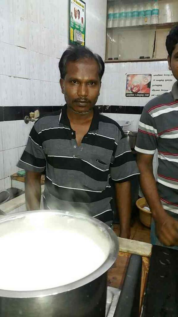 My Tea master he s having 23 yrs of exp in my shop - by Sri Ram Corner, Chennai