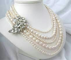 Nice designer pearl necklace set - by Kmr Pearls, Opposite To  Hero Showroom, Nampally, Hyderabad