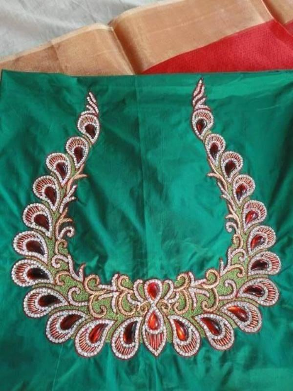 We also design Blouses and Sarees based on customer taste, However you want we will customized for you with very reasonable prices with good finishing and good quality of Materials - by SthreeLok Boutique | Designer Boutique, Visakhapatnam