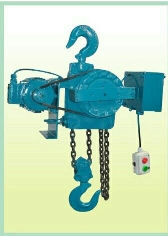 Motorised Chain Pulley Block  Cap: 0.5T To 40.0T - by Artech Engineers, Ahmedabad