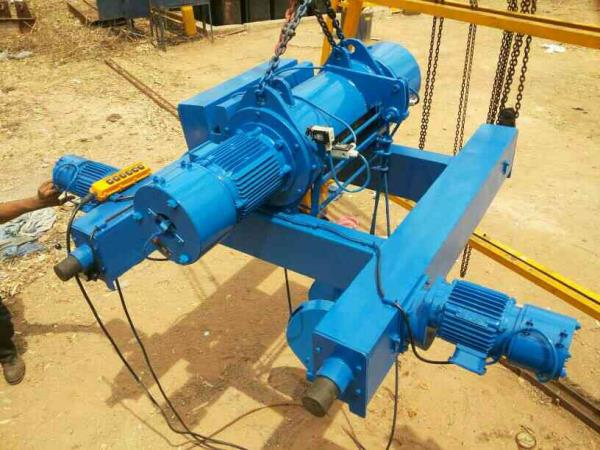 Crab for Double Girder EOT Crane - by Artech Engineers, Ahmedabad