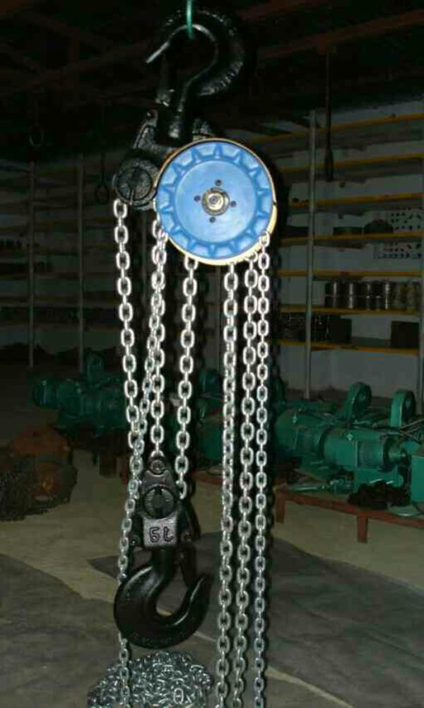 ISI Mark Chain Pulley BLOCK  Cap : 1.0T to 40.0T - by Artech Engineers, Ahmedabad