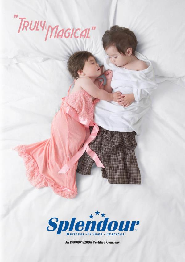 Comfort sleep with Splendour Mattress!  We manufacture all types of mattresses like spring , latex, memory foam etc.   Manufacturer of Mattress in Delhi NCR - by Splendour Manufacture - Mattresses - Pillows - Cushions, Greater Noida
