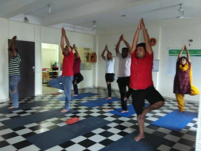 Vriksha asana  - by Yoga Classes, Raipur