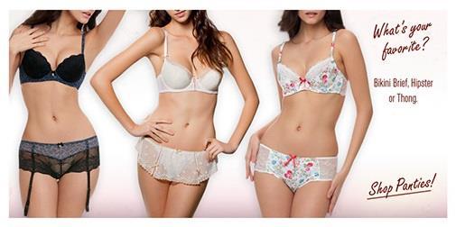What's your favorite? Bikini, Brief, Hipster or Thong!!  Shop Panties at Mayyfair - Best Lingerie Store in Gurgaon - by Mayyfair +91 9873153450, Gurgaon