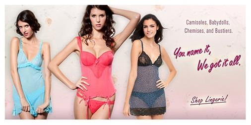 Camisoles, Babydolls, Chemises and Bustiers. You name it, We got it all.  Shop Lingerie - Lingerie Shop in Gurgaon - by Mayyfair +91 9873153450, Gurgaon