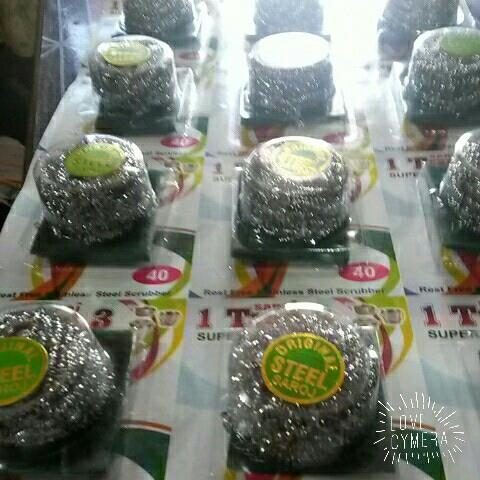 manufacturer of stainless scrubber in ahmedabad  - by SAROJ TRADERS AHMEDABAD, Ahmedabad
