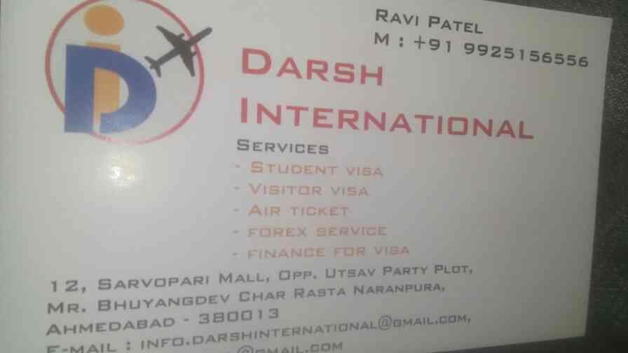 we darsh international is one of the best visa consultant in Ahmedabad. - by Darsh International, Ahmedabad