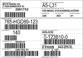 Manufacturer of Industrial Shipping Barcod Label    - by Classic Technologies, Coimbatore