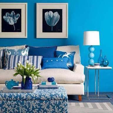 Float away with blissfull blue....  Choudhary paints & h/w-- asian paints colour idea store Sec-47 Malibu towne opp' good earth city centre - by Choudhary Paints & Hardware 9910105327, Gurgoan