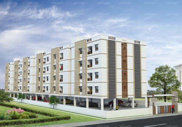 AISHWARYA HOMES - TRICHY, Cost Effective Residential Apartments - by Aishwarya Homes, Tiruchirappalli