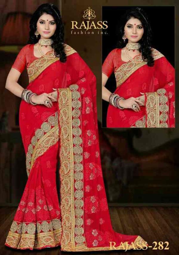 Rajass fashion saree - by Shakambari Collection, Katihar