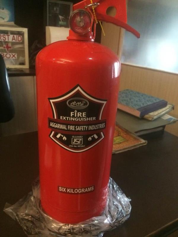 Fire extinguisher dealers in Bangalore  - by Ankit Shah, Bangalore Urban