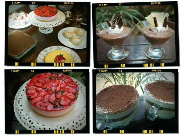 Mouth melting, delicious Continental desserts & cheese cakes class on 11th March it was fabulously done Contents of the class r:- Tiramisu  Chocolate mousse Oranges & lemon pudding Strawberry cheese cake Kiwi surprise Mango paradise... the  - by Gauri Creation, Delhi
