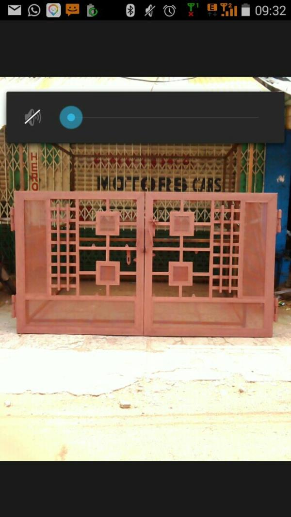WE ARE LEADING MANUFACTURER OF COMPOUND WALL GATES IN RAMANTAPUR. - by Sri Sai Sadguru Fabrications, Hyderabad