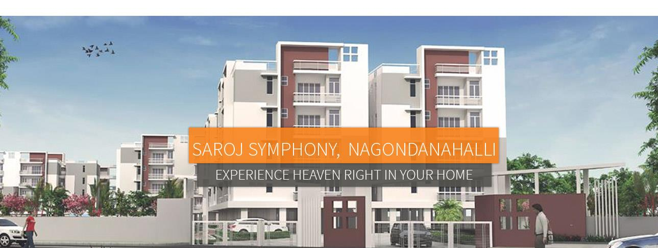 REady to move in whitefield, 2 & 3 BHK - by Saroj Group, Bengaluru