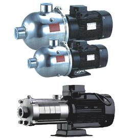 Horizontal multistage stainless steel centrifugal pump  Air conditioning system Cooling system Industrial cleaning Water treatment (Water purification) Fertilizing / metering system Environment application Performance range: Flow Range (Q) - by Pumps Care Technology, Coimbatore