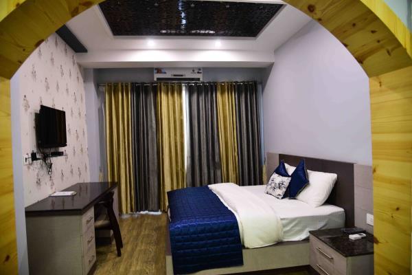 delux room  - by Hotel Kangra Rodeway Inn, Kangra