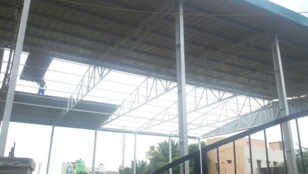 Roof Cladding Contractors In Madurai, Roof Cladding Suppliers In Madurai, Roof Cladding Manufacturers In Madurai, Roof Cladding Dealers In Madurai, Roof Cladding Construction In Madurai, Roof Cladding Erection In Madurai, Roof Cladding Inst - by UNIVERSAL ROOFING COLDSTORE & CONSTRUCTIONS, Madurai