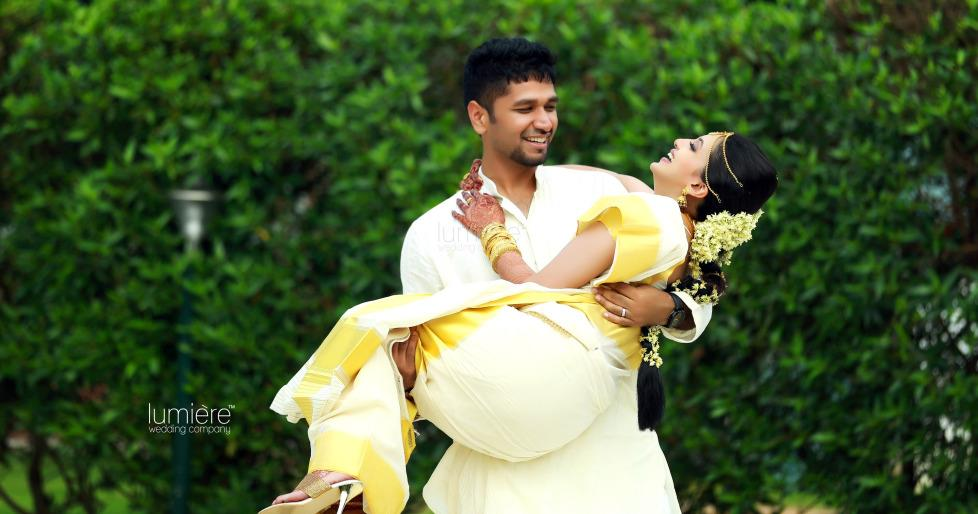 Professional  Wedding Photographers Every feeling, emotion, expressions and gestures needs to be captured and preserved. Hence, during Weddings, the Best Photographers must be hired so as to ensure the best output.  - by Lumiere Wedding Company, Ernakulam