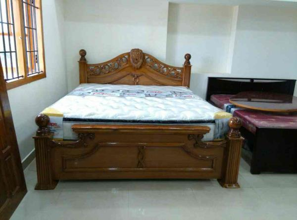 Best Wooden Double Kart furniture - by Guru Furniture, Madurai
