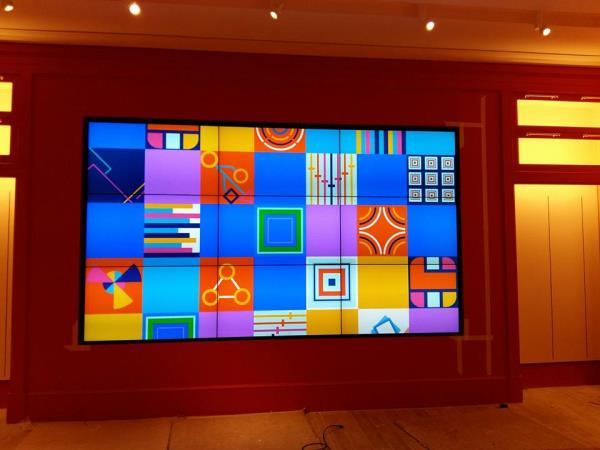 Samsung Video wall dealers in Hyderabad   3x3 Samsung Video Wall - by Avitronics Projections Pvt Ltd Call 040-39594553, secunderabad