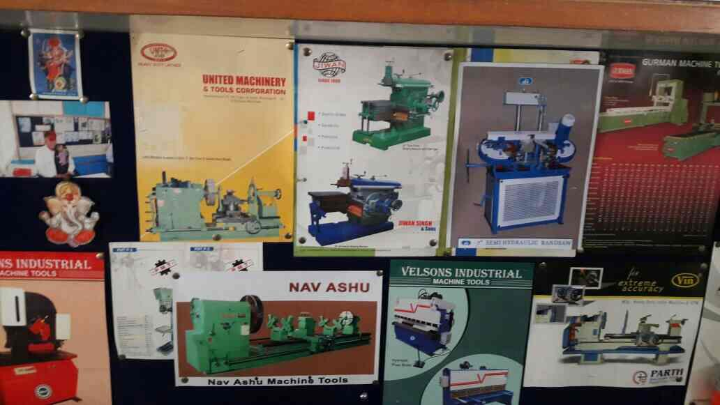 This are our brands of machinery with which we are dealing with ... - by Ashok Tools Corporation, Ahmedabad