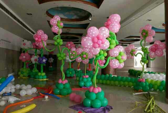 Flower decor in progress!! Contact us now