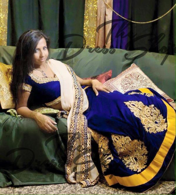 Designer Lehenga Choli - by THE DRESS SHOP, Chennai